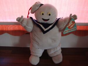"""1984 THE REAL GHOSTBUSTERS STAY PUFT MARSHMALLOW MAN PLUSH LARGE 18"""" BY GALOOB"""