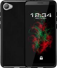 Funda Piano Black Para HTC Desire 12 Protectora de Teléfono Móvil