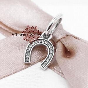 Pandora, S925 Sparkling Symbol of Luck, Necklace Pendant Charm NEW, 791306CZ