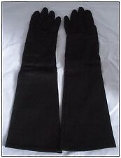 Vintage Geo. Morgan Gloves Ltd. Black Nylon Long Women's Gloves - Canada