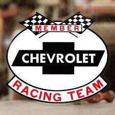 Chevy Racing Team Aufkleber Sticker MOON Big Block Hemi Mopar V8 Old School 427