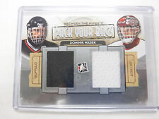 2014 In the Game Pack Your Bags Dominik Hasek Sabres Red Wings Jersey Card jh1