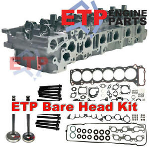 Cylinder Head Kit for Toyota 1FZ 80 Series Supplied ETP Ultimate VRS, Valves and