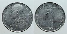 pcc972_4) Città del Vaticano Pio XII   lire 100 1957