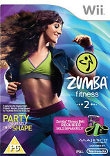 Zumba Fitness 2 - Nintendo Wii *in Excellent Condition*