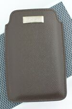 Chopard 95012-0110 iPhone Case Brown Leather Business Card Holder Made in Italy