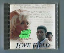 OST Soundtrack CD LOVE FIELD © 1995 VSD-5316 Jerry Goldsmith - German (!) Press