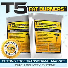 T5 FAT BURNERS PATCHES -STRONGEST LEGAL SLIMMING / DIET / WEIGHT LOSS PILLS ALT