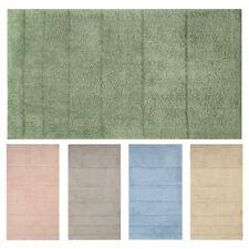 OLIVO.shop - DAFNE Tappeto da bagno antiscivolo 100% cotone grande o piccolo