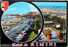 1972 Saluti da RIMINI - Ediz.Rotalfoto - francobollo Turrita da lire 25