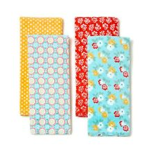 Pioneer Woman Cotton Spring Floral Kitchen / Hand Towels FOUR NEW