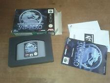 Mortal Kombat Mythologies Sub - Zero N64 PAL