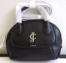 NWT Authentic Juicy Couture Leather Mini Satchel/ Handbag, black~🍒@$69 OFF