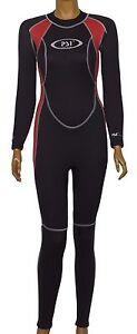 PSI 3/2mm Damen Neopren Surfanzug Neoprenanzug Schwimmanzug