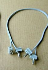 NEW vintage LEGO 12V TRAIN MOTOR electric wire connector or 4,5V battery cable d