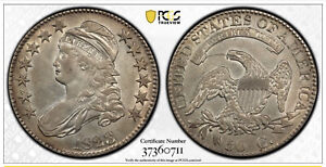 Rare 1823 Capped Bust Half Dollar PCGS  XF Details
