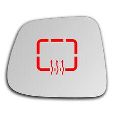 Left Side Clip On Heated Mirror Glass for Chevrolet Orlando 2011 - 2019 0532LSHP