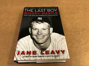 Book; Sports Biography, Mickey Mantle: The Last Boy, Excellent-NM Condition