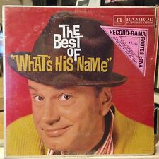 [COMEDY]~SEALED LP~JACK PARR~The Best Of What's His Name~[At Home/In London]~'61