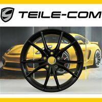 """-50% TOP+ORIG. Porsche 911 991.2 20"""" Carrera S IV Felge/wheel 8,5J ET49 Schwarz"""