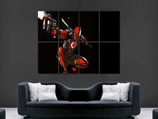 DEADPOOL FUMETTI SUPEREROI GIGANTE POSTER ART PICTURE PRINT LARGE