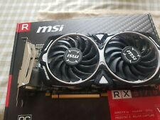 MSI AMD Radeon RX 570 ARMOR 8G OC GDDR5 Graphics Card