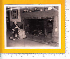 7352 Ruth Sawyer Hanson c1940 photograph New Salem Depot, NH Roy Tucker snapshot
