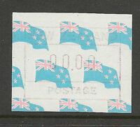 New Zealand 1988 Flag Paper 00.00 FRAMA Testing Label MNH