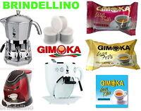 150 Capsule Caffè Gimoka per MOKONA BIALETTI GRAN BAR