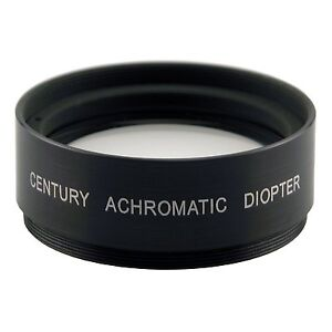 Century Achromatic Diopter 58mm Screw Mount +2 Close Up Lens Filter 0AD-5820-00