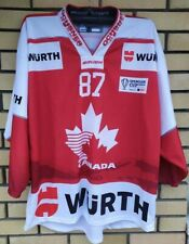 Canada Hockey Team Jersey Spengler Cup 2015 Sidney Crosby 87 Wurth Size XL