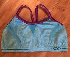 Girls ~ Champion Blue & Purple  Sports Bra ~ Size Small