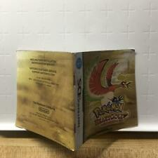 Pokemon Heart Gold Nintendo DS Instruction Manual Book Only