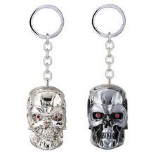 The Terminator Skull Head Keychain Pendant Key Chain Movie Key Ring New Gift
