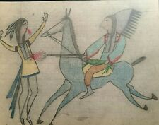 Original Ledger Drawing. Early to Mid 1900s.