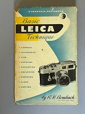 Basic Leica Technique, by R H Bomback,  1st Edition 1954