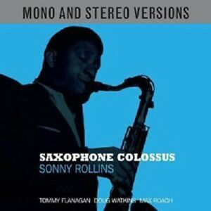Sonny Rollins Saxophone Colossus 2-CD NEW SEALED 2015 Jazz Mono & Stereo