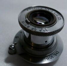 Industar-10 Russian collapsible 3.5/50mm lens of FED Leica M39 mount camera 2368