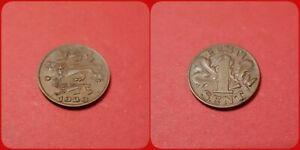 Estonia 1 Sent, 1929, Estonia Cent EESTI 1 SENT KM# 10