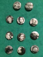 Sunset Blvd Set Of Eleven 1 Inch Magnets Norma Desmond Joe Gillis Max Betty