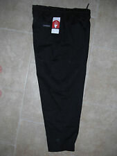Chef Works Designer 2Xl Black Chef's Drawstring Elastic Baggy Uniform Pants