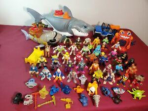 HUGE Imaginext Lot Disney, Power Rangers, Batman, Accessories, Shark, Aliens