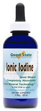 Liquid Ionic Iodine - (4 Drops Equals 500 mcg Per Serving - 600 total servings)