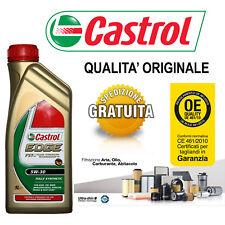KIT TAGLIANDO OLIO CASTROL EDGE 5W30 5LT+4 FILTRI AUDI A3 II 1.9 TDI 04/09->