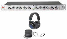 DBX 234XS Rack Mount Stereo 2/3/4-Way Crossover Sound Processor+DJ Headphones