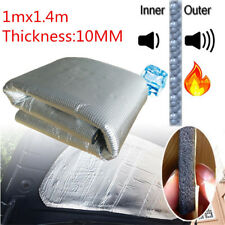 NEW 1M x 1.4M Sound Insulation Deadener Noise Proofing Car Hood Firewall Muffler