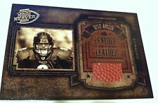KYLE BOLLER 2003 Hogg Heaven Leather in Leather FOOTBALL Relic SP #d /250 RAVENS