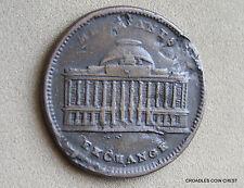 Hard Luck Token Merchants Exchange Wall St New York Late 1800's #Iaat8
