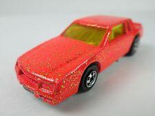 Hot Wheels Mattel, Inc.1988 Chevy Monte Carlo RARE Orange Glitter Malaysia Loose