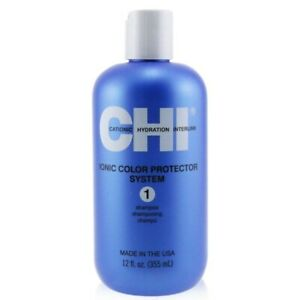 CHI Ionic Colour Protector System 1 Shampoo 355ml Mens Hair Care